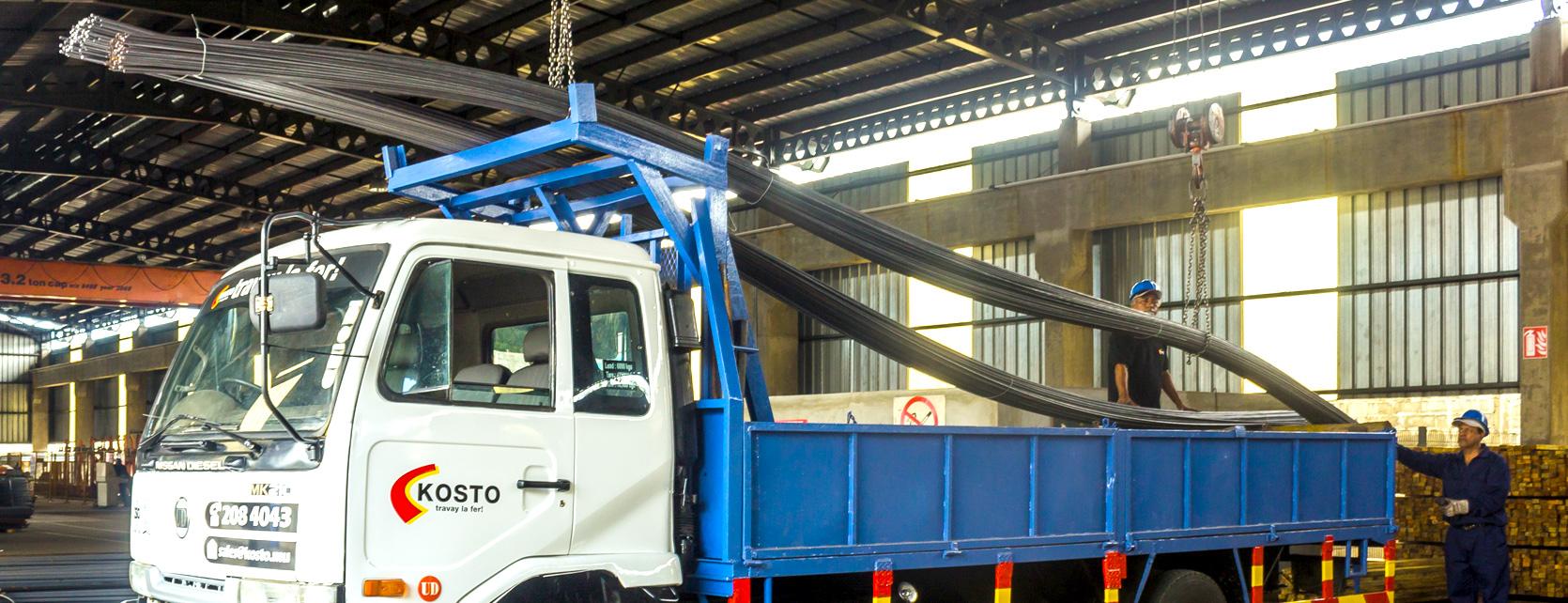 Kosto Delivery Truck