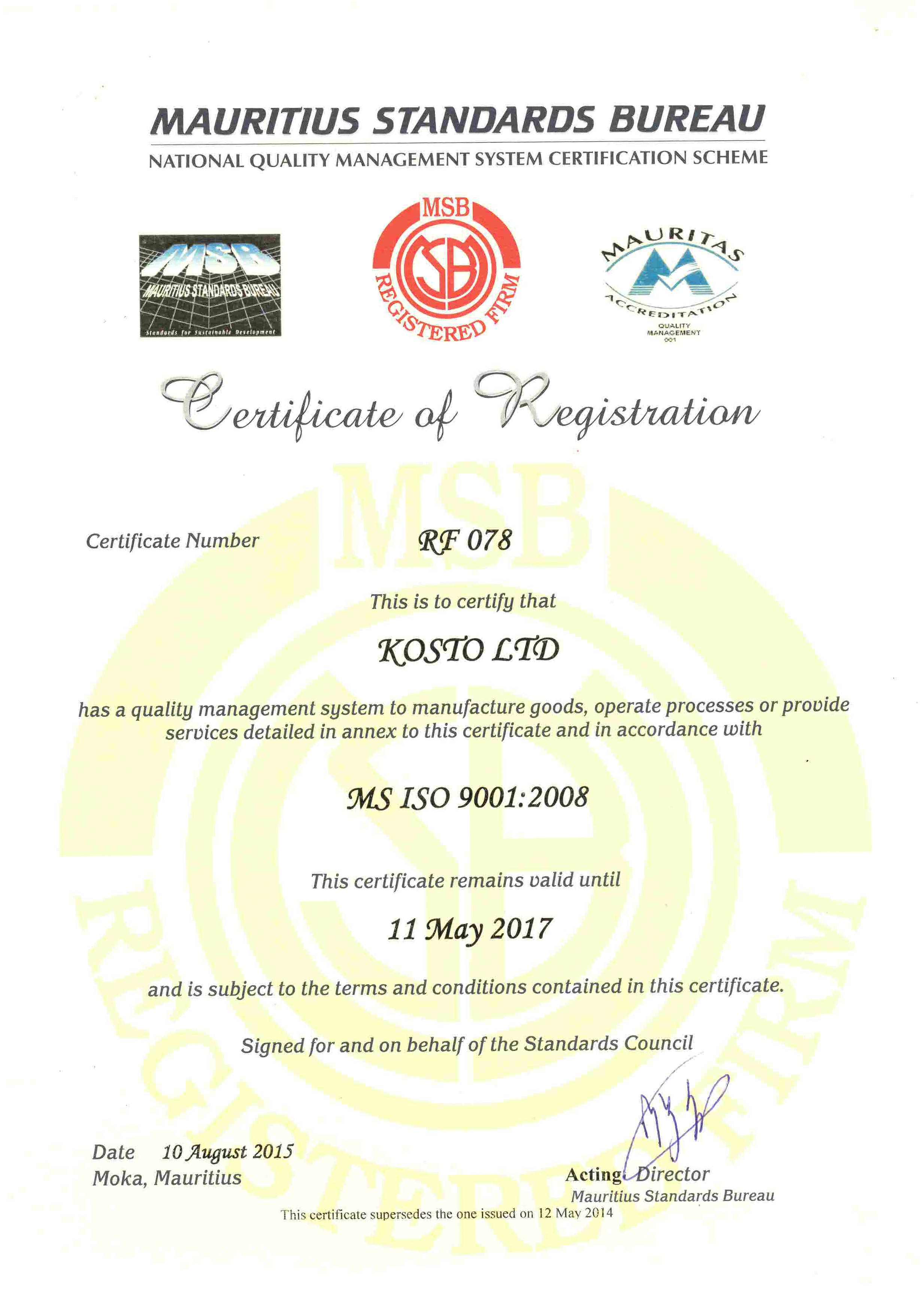 iso9001 Home